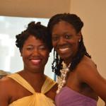 Ebony Cobb and Alesha Smith